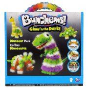 Bunchems Pack Dinosaurios Brilla en la Oscuridad