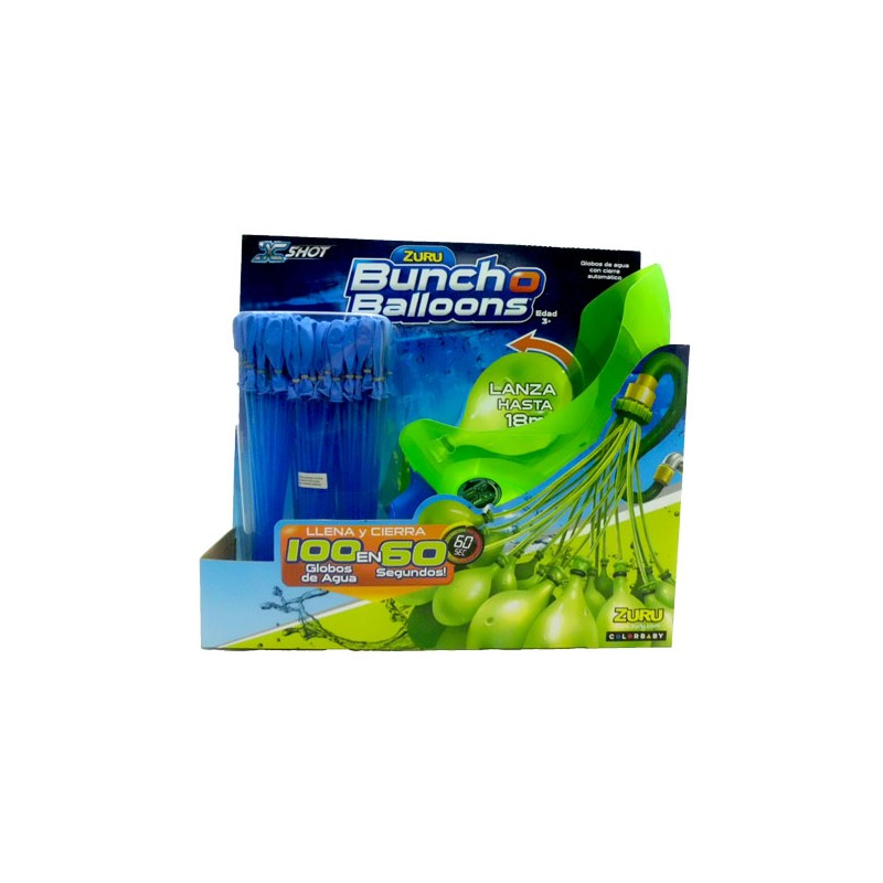 Buncho Ballons Lanzador Globos Azul