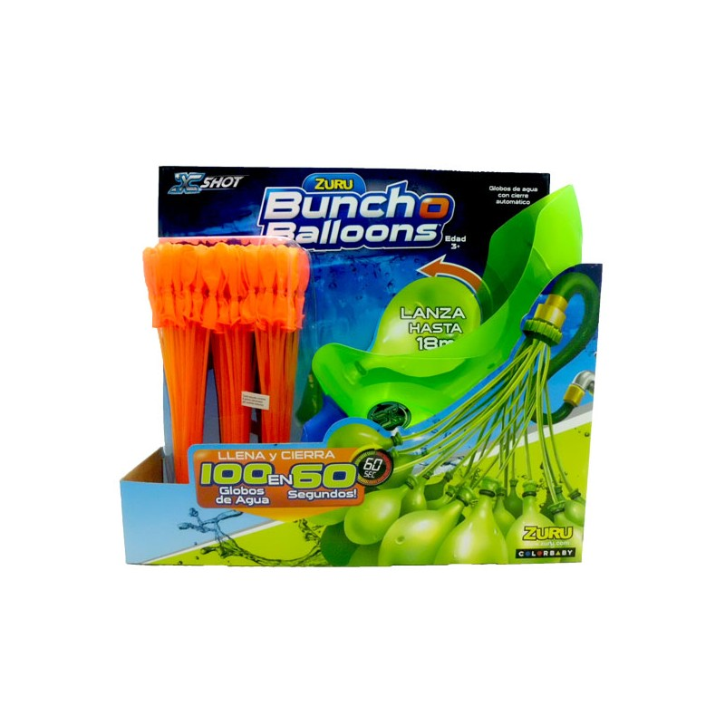 Buncho Ballons Lanzador Globos Naranja