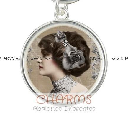 colgante pulsera mujer vintage