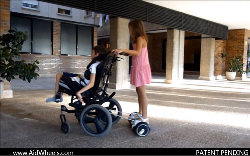 hoverboard wheelchair silla de ruedas patineta electrica autobalanced