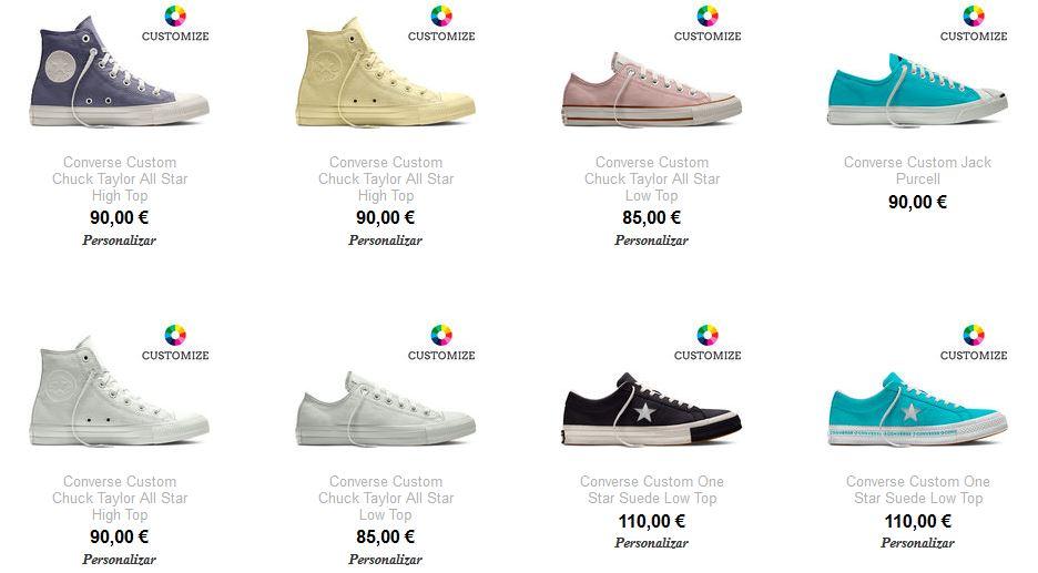 comprar zapatillas converse mujer