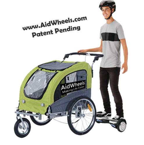 sistema aidwheels carro trailer taxi