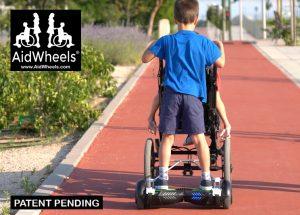 adaptar hoverboard a silla de ruedas