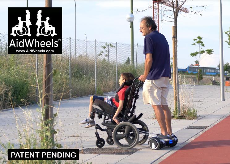 adaptar hoverboards a sillas de ruedas