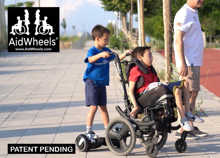 adaptar patinetes a silla de ruedas