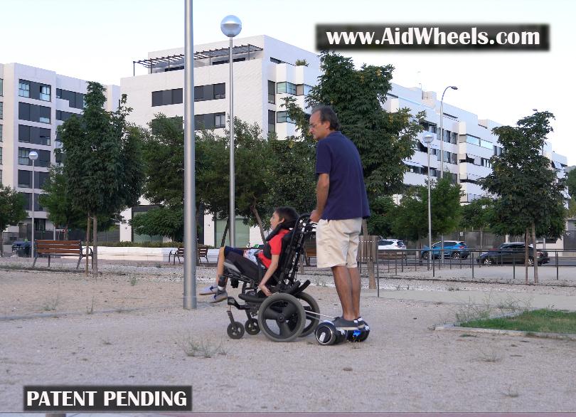 fabricar hoverboard para silla de ruedas como