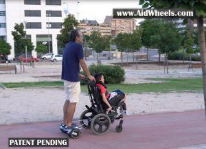 Silla de ruedas hoverboard notizalia - Silla para hoverboard ...
