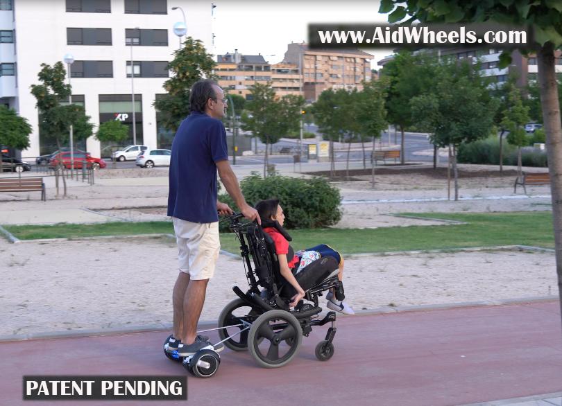 silla de ruedas hoverboard