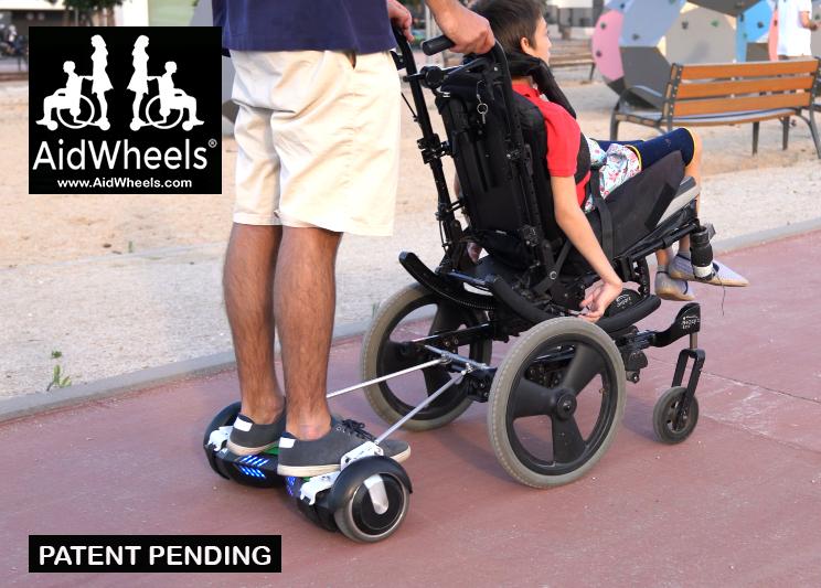 sillas de ruedas con hoverboard