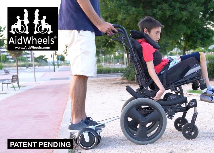 como adaptar hoverboards para sillas de ruedas