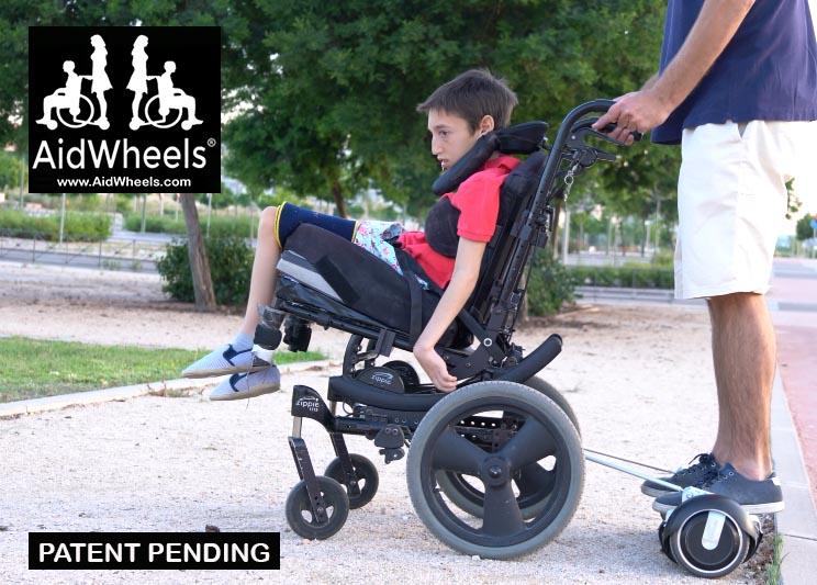 como adaptar un hoverboard para silla de ruedas