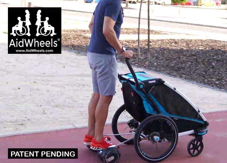 hoverboard para carritos de bebe aidwheels thule chariot