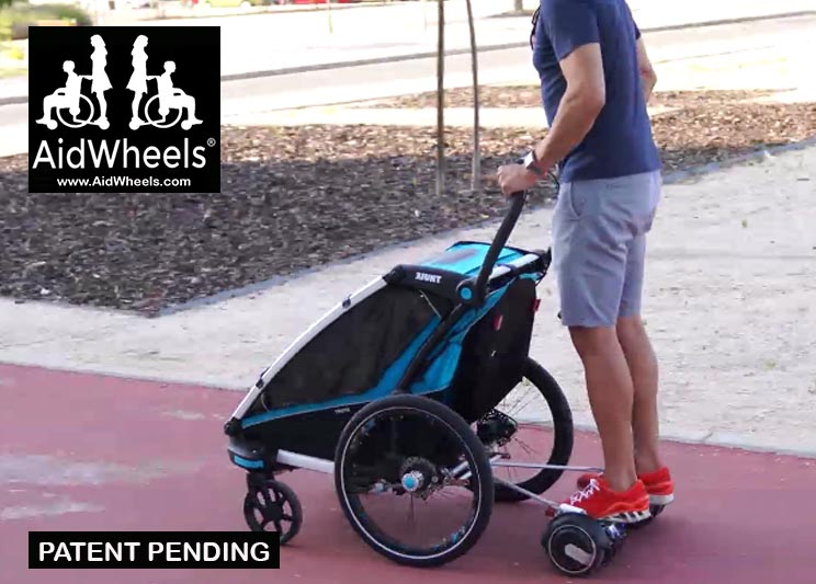trailer bicicletas thule hoverboard aidwheels