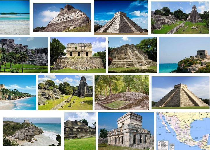 vacaciones ruinas mayas mexico guatemala belize