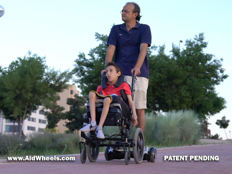 silla ruedas hoverboard wheelchair aidwheels
