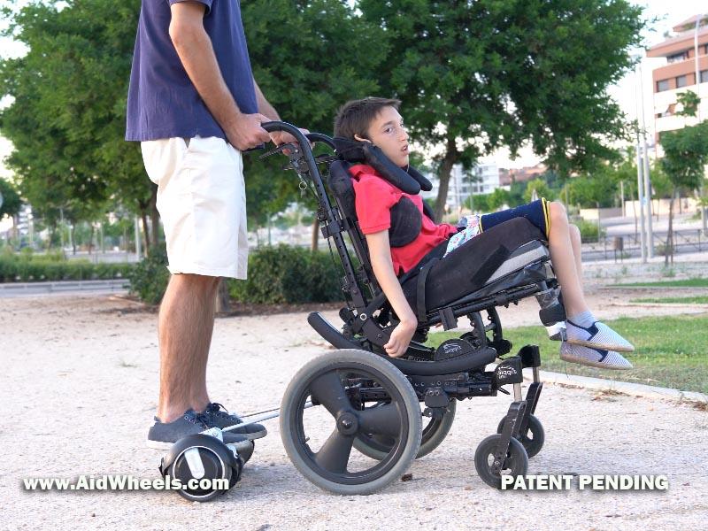 unir silla de ruedas a hoverboard