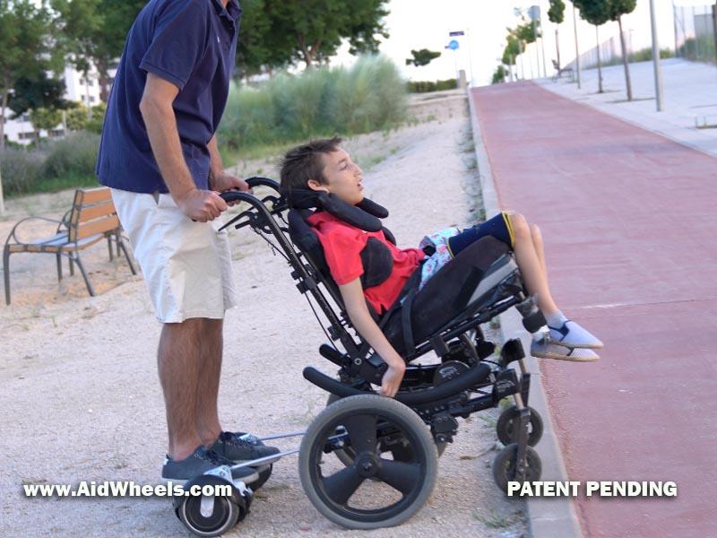 silla ruedas hoverboard wheelchair aidwheels 21