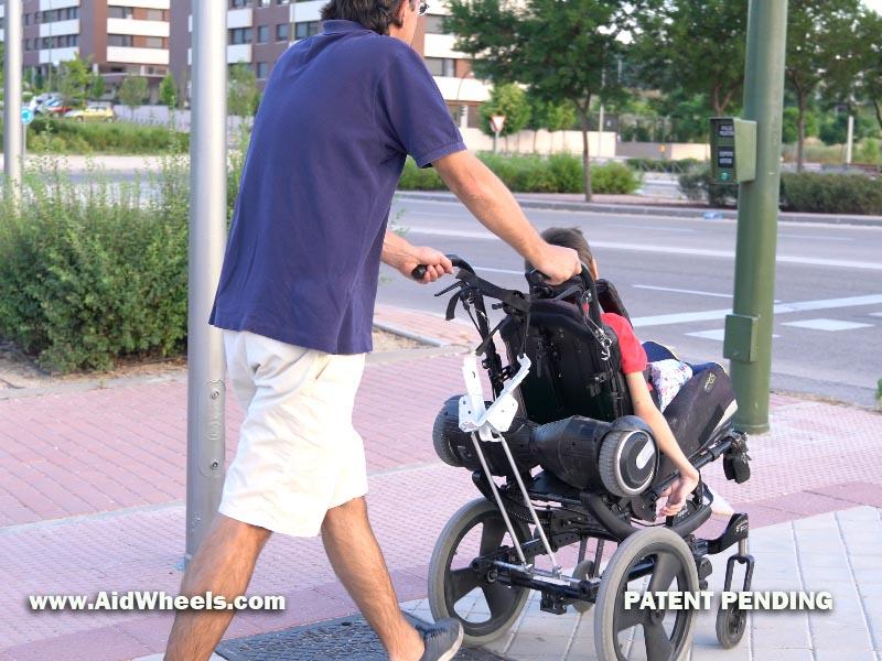 inventos para sillas de ruedas