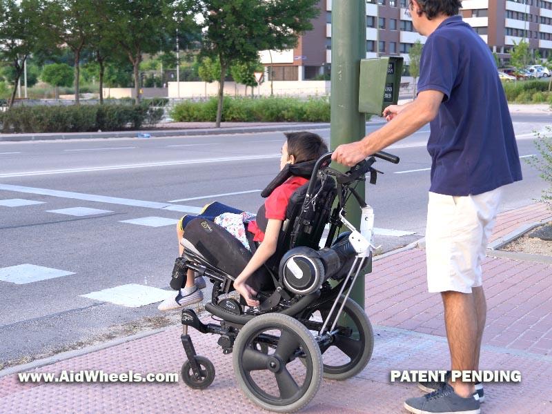 silla ruedas hoverboard wheelchair aidwheels 23