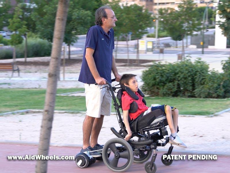 silla ruedas hoverboard wheelchair aidwheels 25