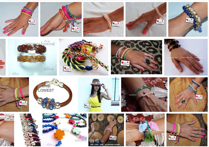 mayoristas de pulseras mujer