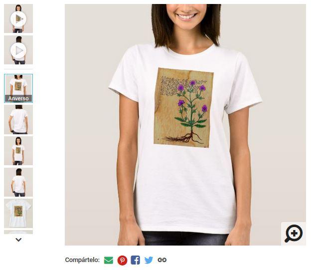 camisetas voynich tshirt personalizadas