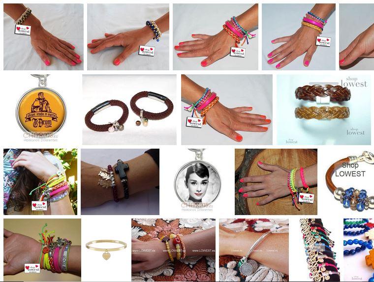 pulseras de moda 2019 colores