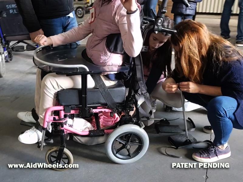 motorizar silla de ruedas manual