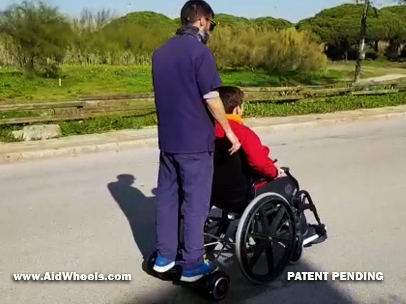 donde conseguir hoverboard para sillas de ruedas adulto