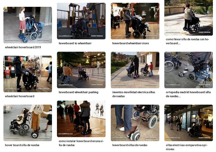 hoverboard wheelchair aidwheels