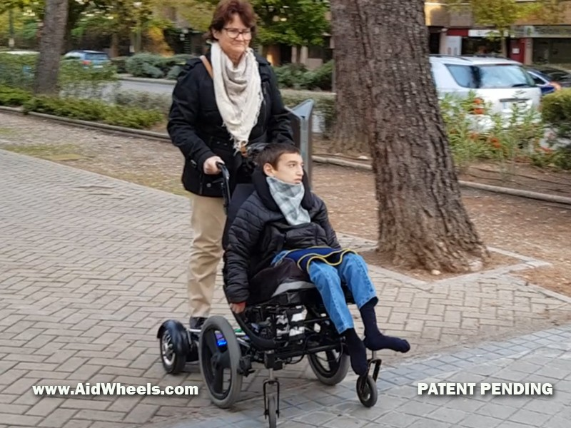 pusherboard silla ruedas