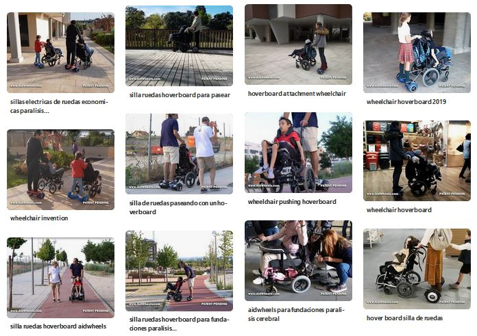 wheelchair hoverboard pictures