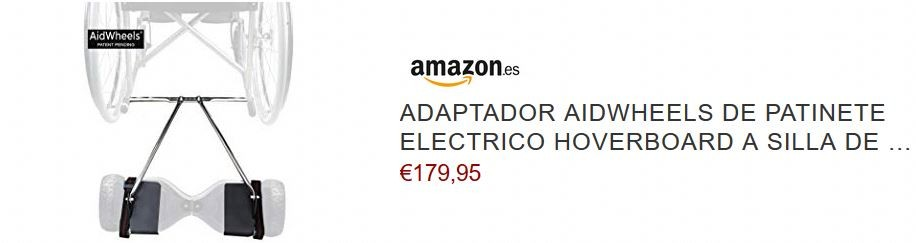 adaptador silla de ruedas