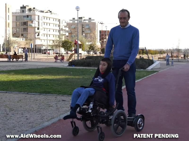 movilidad electrica adaptada aidwheels