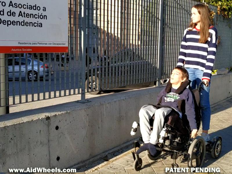 ayudas movilidad electrica silla de ruedas discapacitad aidwheels