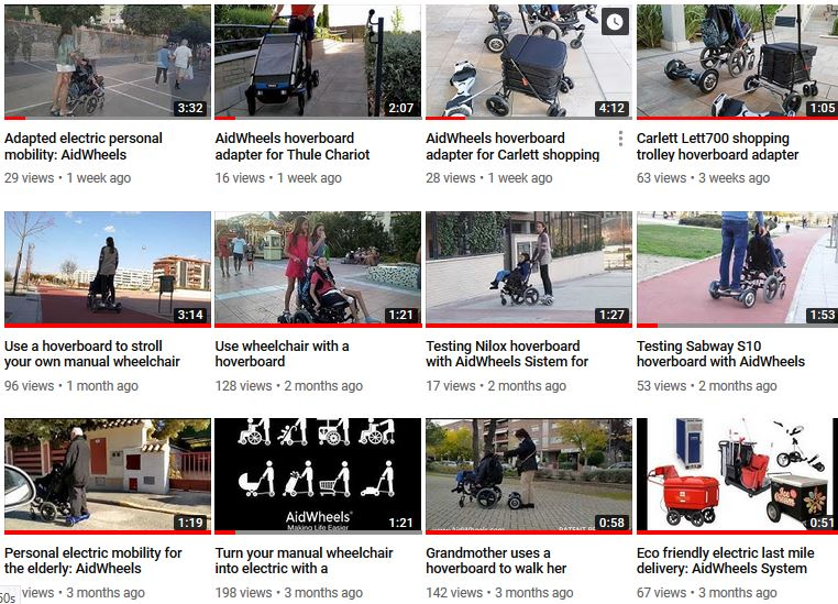 Wheelchairs with hoverboard