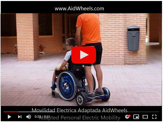 Motor asistente sillas de ruedas