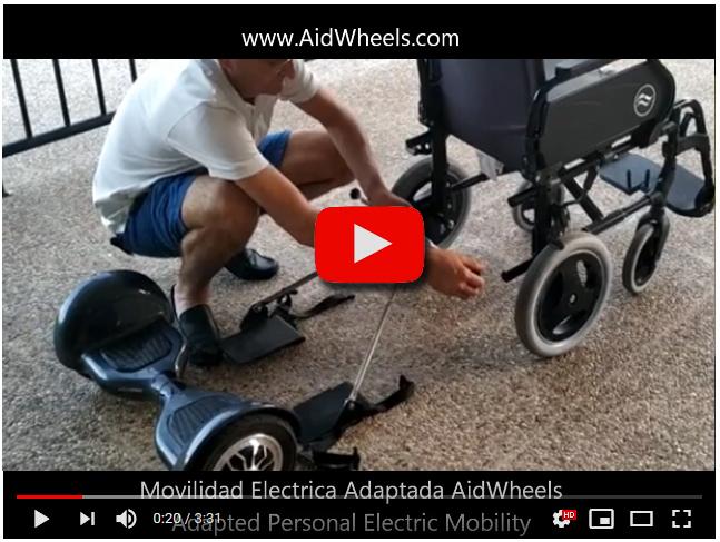 Cómo instalar tu motor asistente sillas de ruedas