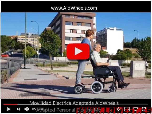 motor ayuda asistente para sillas de ruedas manuales