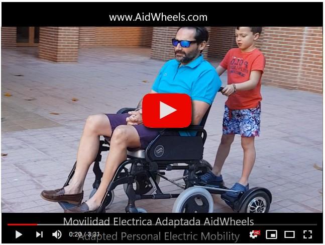 motor empuje silla de ruedas