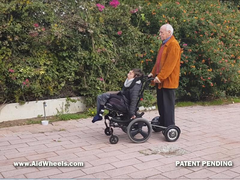 asistente electrico para sillas de ruedas personas mayores ancianos