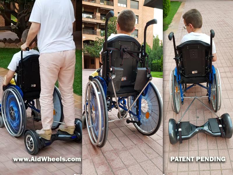 Motor sillas ruedas manuales