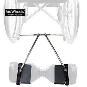 Adaptador AidWheels de patinete electrico hoverboard a silla de ruedas