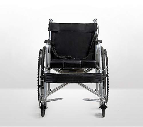 Silla De Ruedas Plegable Aluminio compatible con Hoverboards