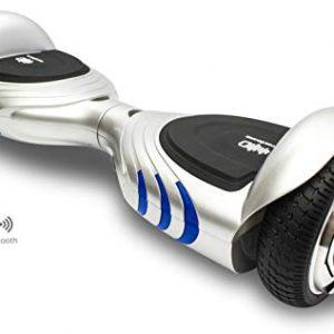 Patinete Eléctrico Hoverboard Silver ID Q2 para silla de ruedas
