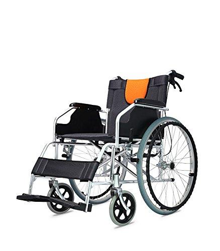 Silla de ruedas para hoverboard POLIRONESHOP de aluminio plegable y autopropulsable