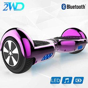 Hoverboard Scooter eléctrico 3x350W compatible con sillas de ruedas