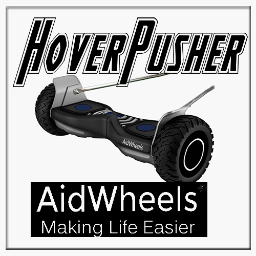 AidWheels HoverPusher para Silla de ruedas plegable para niños Zippie basculante