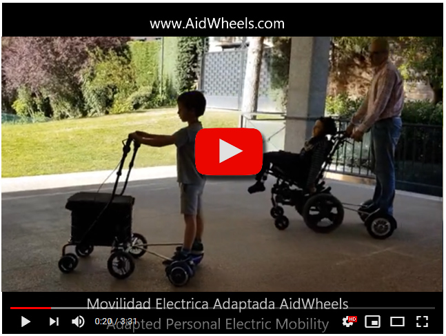 Assistive wheelchair micromobility